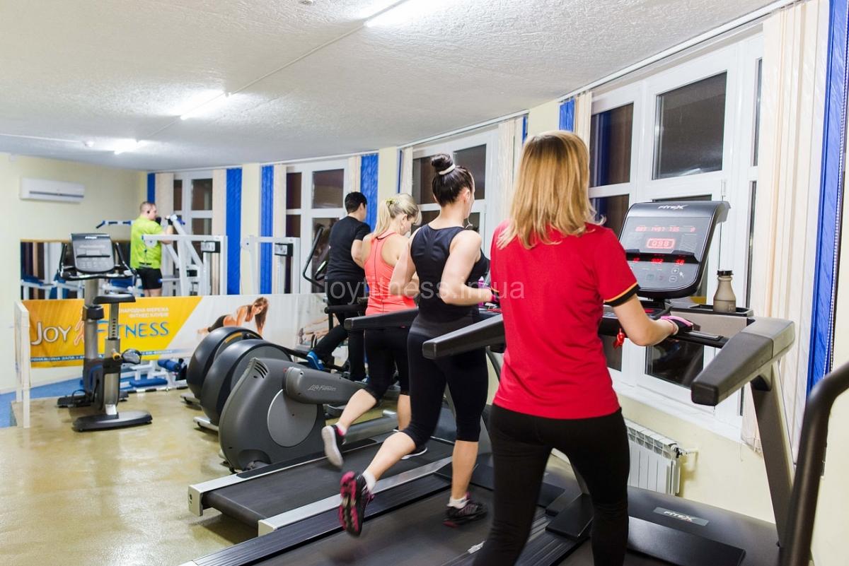 Joy in gym